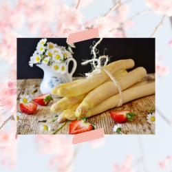 Gegrilde asperges à la Flamande met gerookte zalm