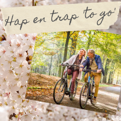 Hap en Trap 'to go' + Formule 1